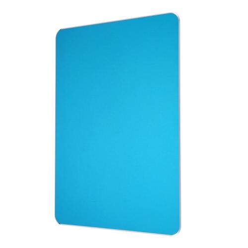 Superfície de liga de alumínio Micro areia de jateamento mouse pad de jogos Base antiderrapante Dual Sides Disponível Jogo Office Mice Mat
