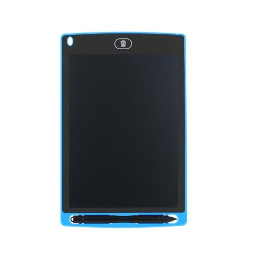 """8.5 """"Tabletadora de escrita LCD Placa de escrita manual Placa de desenho digital Gráficos Notepad sem papel Pequena tela de suporte do quadro negro Função clara com caneta Botão de botão embutido"""