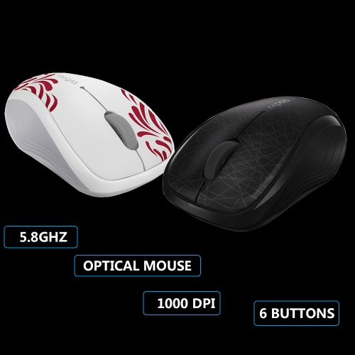 Rapoo 3100P 5.8GHz Wireless Optical Mouse