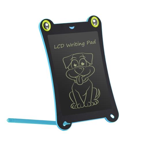 WT085C Tavolo da disegno per scrittura a mano da 8,5 pollici LCD con tavoletta di scrittura e stilo in plastica per bambini