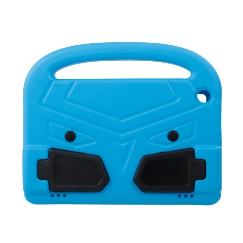 Protective EVA Case for Amazon HD8 2016/2017 Silicone Shockproof Handle Case Screen Protector Kids-friendly (Blue)
