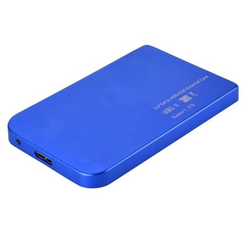 2,5-дюймовый USB 3.0 Ультратонкий корпус SATA SSD Жесткий диск Корпус 5 Гбит / с Высокоскоростной мобильный жесткий диск