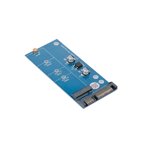 NGFF M.2 SSD to SATA 3.0 Adapter Card Converter for 30/42/60/80mm M.2 SSD Hard Drive
