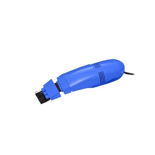 Творческий USB-клавиатура Пылесос Портативный мини портативный USB-пылесос Клавиатура-пылесос (синий) фото