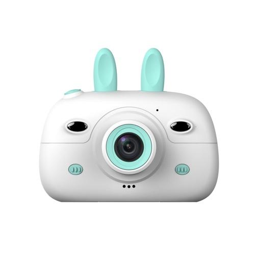 Мини Дети Цифровая Камера 1.8MP Передняя Задняя Камера Селфи 2.4inch IPS HD Экран Двойные Фонари Прекрасная Камера Синий