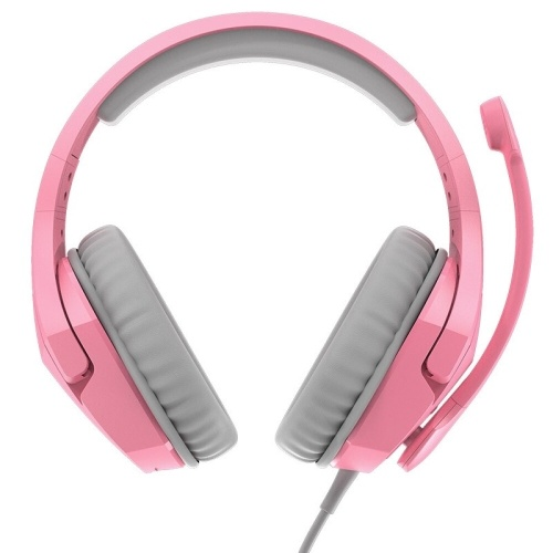 Kingston HyperX Cloud Stinger Head-mounted Gaming Headset with Noise Reduction Microphone for PC Game Console Cellphone Pink