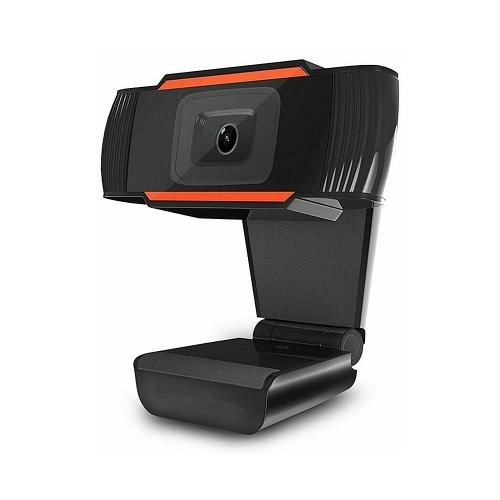 Webcam HD grand angle 1080P 2MP 30fps mise au point automatique Web Cam Réduction du bruit MIC Ordinateur portable Caméra USB Plug & Play pour ordinateur portable TV Box