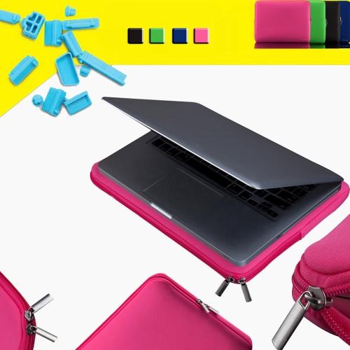 """Zipper Soft Sleeve Bag Case for MacBook Air Ultrabook Laptop Notebook 11-inch 11"""" 11.6""""  Portable C2394LP"""