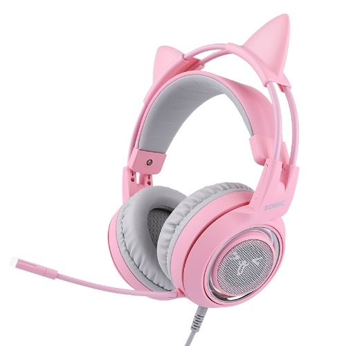 Casque Gaming Rose SOMIC G951Pink Girl