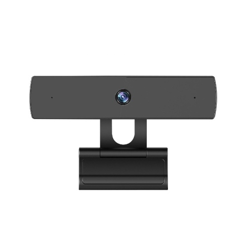 HD 1080P Web Camera Fixed Focus USB Webcam Built-in Sound-absorbing Microphone Drive-free Camera for Desktop Laptop Black