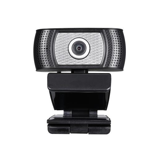 Веб-камера высокой четкости 720P Веб-камера 30 кадров в секунду Вращение на 360 градусов Микрофон с шумоподавлением HD Портативная компьютерная камера USB Plug & Play для ноутбука Настольный ТВ-бокс