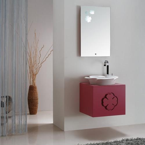 Meuble salle de bain simple vasque ouverture droite- MAÏA