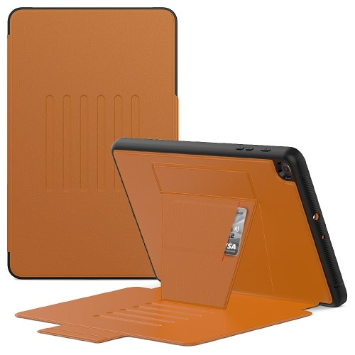Tablet Case Replacement for Galaxy Tab A(2019)10.1-inch SM-T510/T515/T517 Full Body Protection Case Brown