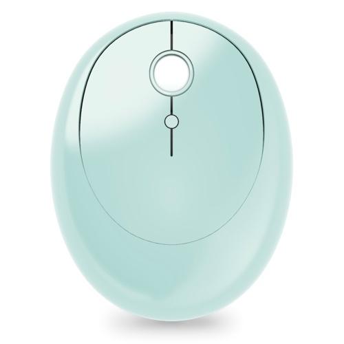 Mofii SM390BT Wireless BT Mouse Портативная эргономичная мышь с 3 регулируемыми точками на дюйм Plug and Play для ПК, ноутбука Зеленый