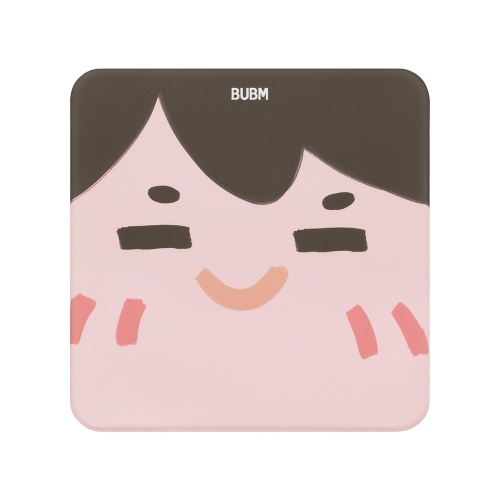 BUBM Cartoon Mouse Pad Soft Multiple Options Lovely Design Silicone Filling Smooth & Durable Non-slip Soft-bounce Brown