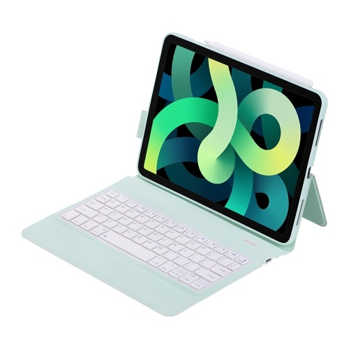 Holster Keyboard Magnetic Charging Full Cover Edge Soft Shell Long Time To Use External Pencil Case Ultra Light All In One Green