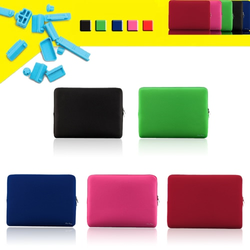 "Zipper Soft Sleeve Bag Case for MacBook Air Ultrabook Laptop Notebook 11-inch 11"" 11.6""  Portable C2394R"