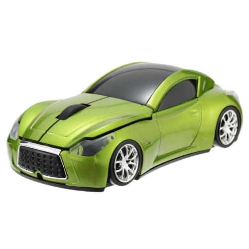2.4GHz Wireless Racing Samochodowa mysz optyczna / myszy 3D 3 Przyciski 1000 DPI / CPI dla komputerów PC Laptop Desktop