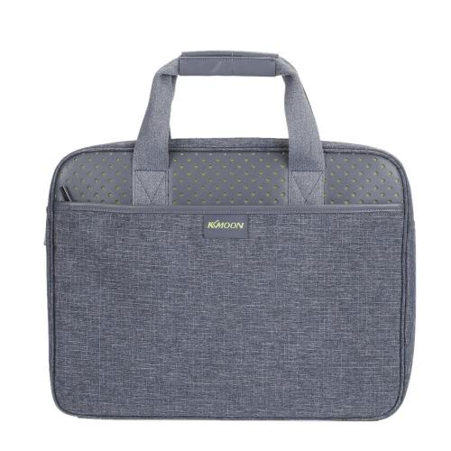 KKmoon Zipper Portable Business Briefcase Carrying Sleeve Bag Handbag 14