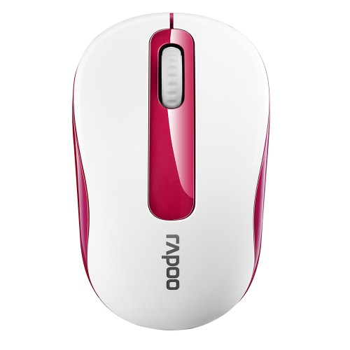 Rapoo 2.4G Wireless Silent Mouse Óptico de ratos portáteis 1000 DPI para Mac Computador laptop para PC