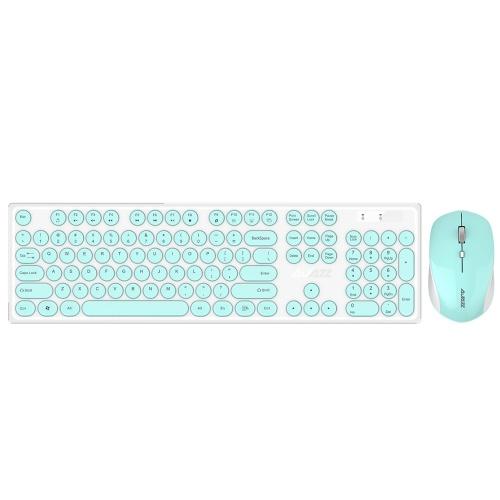 Conjunto de teclado e mouse sem fio Ajazz 335i