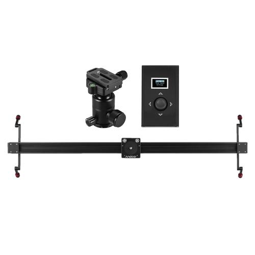 Andoer 1m/3,3 ft Elektrosteuerung DSLR Kamera Slider Stabilisator + Ball Head