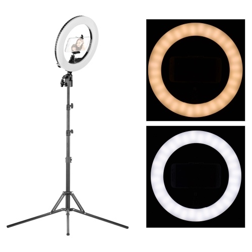 10 pouces LED Ring Light lampe vidéo de studio dimmable 3200-5500K