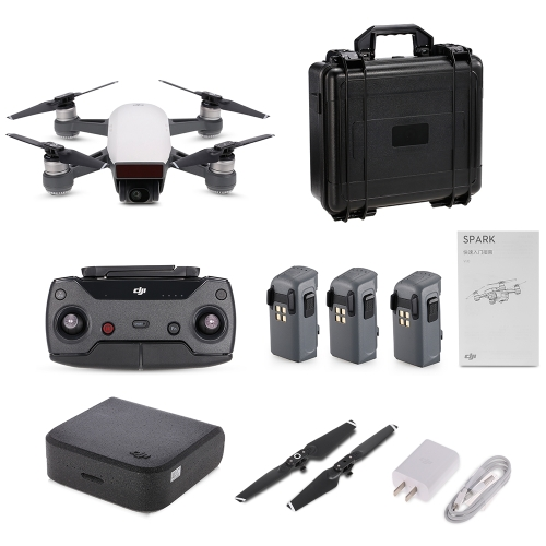 DJI Spark 12MP 1080P Wifi FPV RCクアドコプターコンボ -  RTF