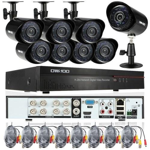 OWSOO 8CHフル960H / D1 800TVL CCTV監視DVRセキュリティシステム