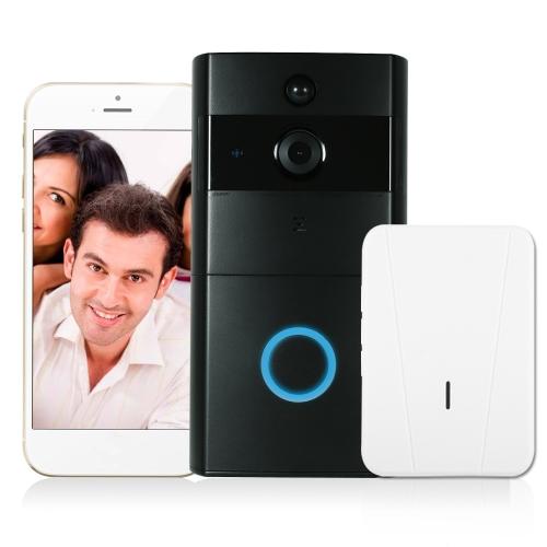 1*720P WiFi Visual Intercom Door Phone+1*Wireless Doorbell Chime