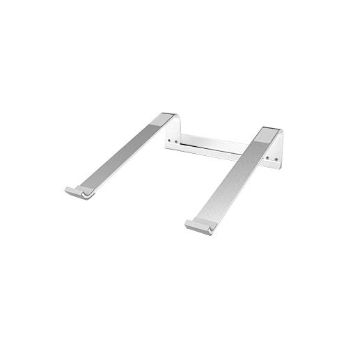 L181A Aluminum Laptop Stand Desktop Portable Silicone Non-slip Ergonomic Laptop Holder Cooling Bracket Silver