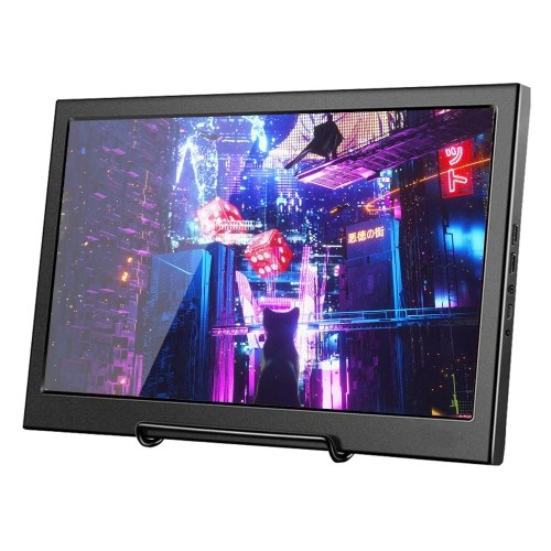 11.6-inch HD Monitor 1920X1080 IPS Panel PS3 PS4 Xbox360 Display Monitor for Raspberry Pi Windows 7 8 10 Thickness 17mm US Plug