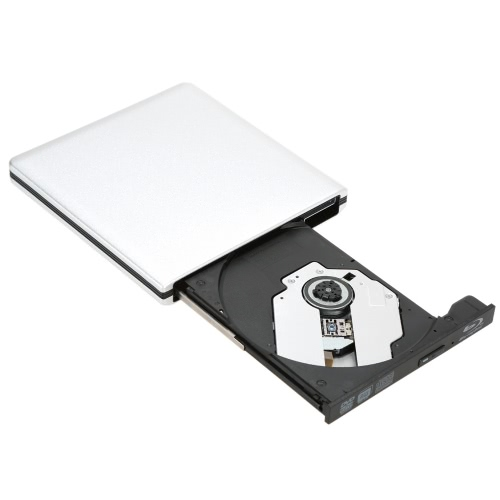 USB3.0 External SATA Optical Drive Portable DVD-RW/BD-ROM/BD-RW Player Burner Recorder