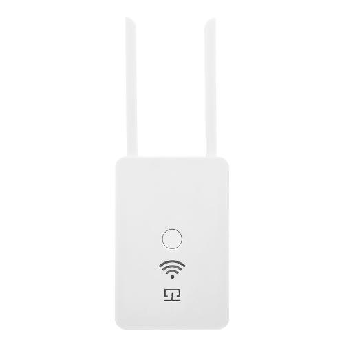 Bezprzewodowy wzmacniacz sygnału sieci bezprzewodowej 300 Mb / s Bezprzewodowa wzmacniacz sygnału repeatera Uniwersalna inteligentna podwójna antena US Plug White