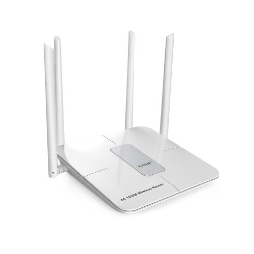 EDUP EP-RT2655 2.4G 5.8G Dual-band Gaming Wi-Fi Router USB Repeater pamięci masowej