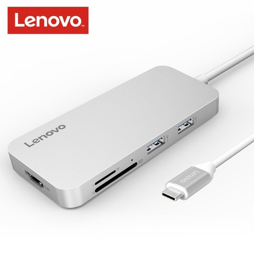 Lenovo USB typu C do 4K HD Adapter USB C Hub Type-C na kabel USB 3.0 / 2.0 Konwertery Czytnik kart SD / TF