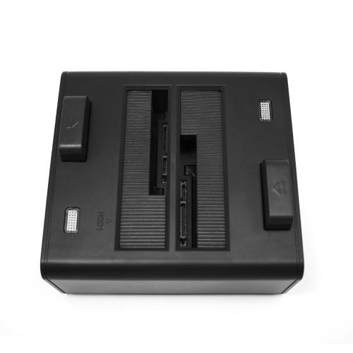 OImaster Dual Bay Hard Drive Docking Station USB 3.0 to 2.5/3.5inch SATA Hard Disk Case Dual Bay HDD SSD