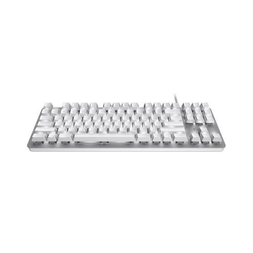 Razer BlackWidow Механическая клавиатура Gaming Office Orange Механические переключатели Проводная клавиатура 87 клавиш Silver фото