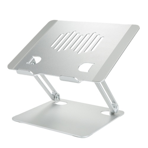 Laptop-Halterung Kühler aus Aluminiumlegierung Faltbare große Tragfähigkeit Tragbare Laptop-Stützbasis