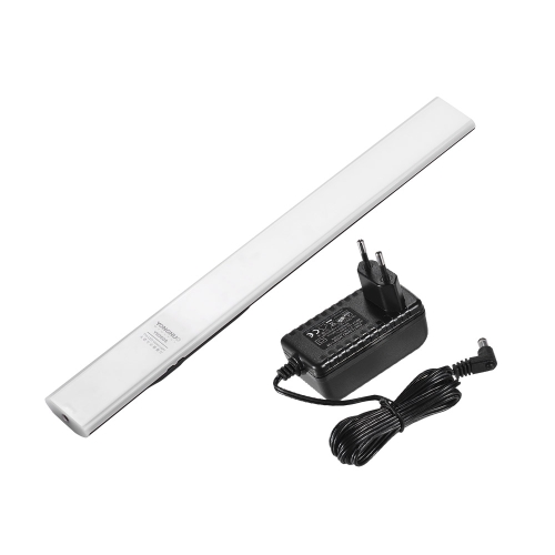 YONGNUO YN360S Handheld LED Video Light Wand Bar + cabo adaptador de alimentação