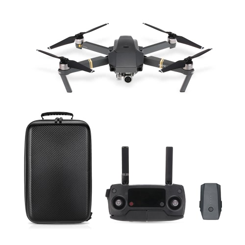 DJI Mavic Pro Foldable 4K Camera FPV RC Quadcopter с одним дополнительным аккумулятором / Hardshell Carbon Backpack