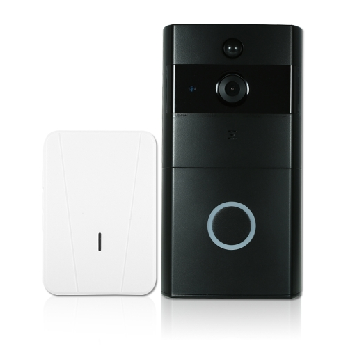 1*720P WiFi Visual Intercom Door Phone+1*Wireless Doorbell Chime