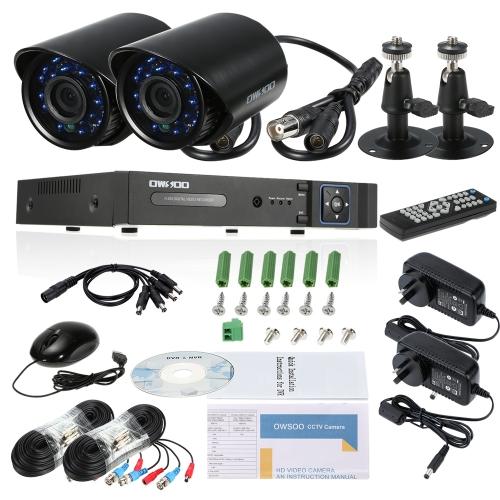 OWSOO 8CH Canal 1080P Hybrid DVR Camera Sistema de CFTV