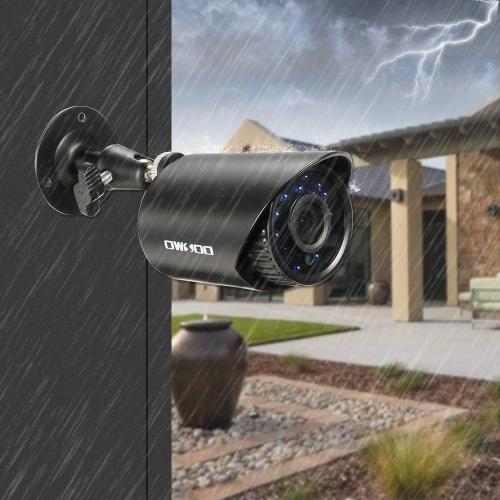 OWSOO 8CHチャンネル1080PハイブリッドDVRカメラCCTVシステム