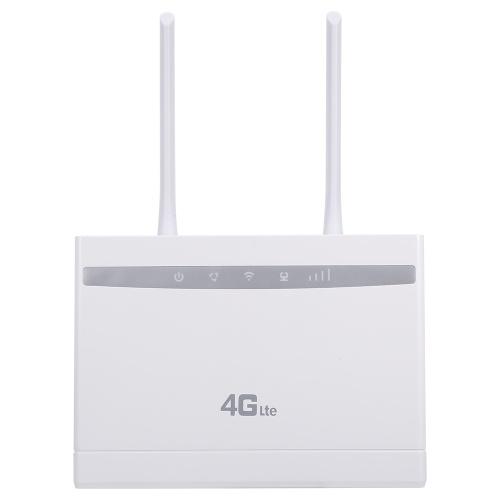 Беспроводной маршрутизатор 4G LTE 150 Мбит / с Высокопроизводительный маршрутизатор CPE со слотом для SIM-карты Сильный сигнал Версия для ЕС