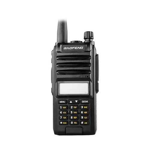 BAOFENG A58S Portable Two-way Radio Handheld Walkie Talkie FM Transceiver 8W Power Long Distance with Flashlight EU Plug