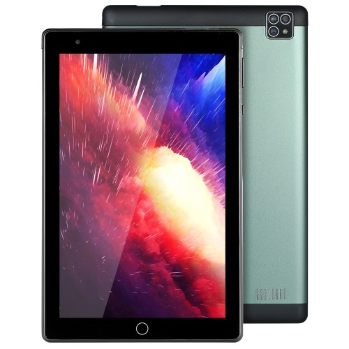 8inch Android Tablet Octa-core Processor/Android 10.1 OS/8'' 1280*800 IPS Display/2GB+32GB Memory/WiFi & BT4.0 Green EU Plug