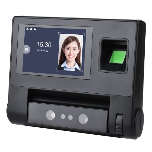 Palm Vein+ Facial Recognition Time Attendance Machine Wide Application 4.0 Inch LCD...