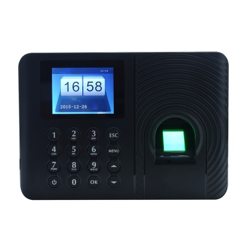 Intelligent Biometric Fingerprint Password Attendance Machine