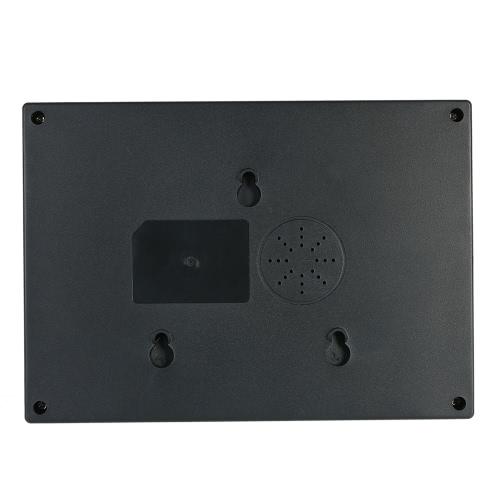 Inteligente Biométrico huella dactilar contraseña Asistencia máquina Empleado Checking-in Grabador 2,4 pulgadas TFT LCD DC 5V reloj de tiempo de asistencia